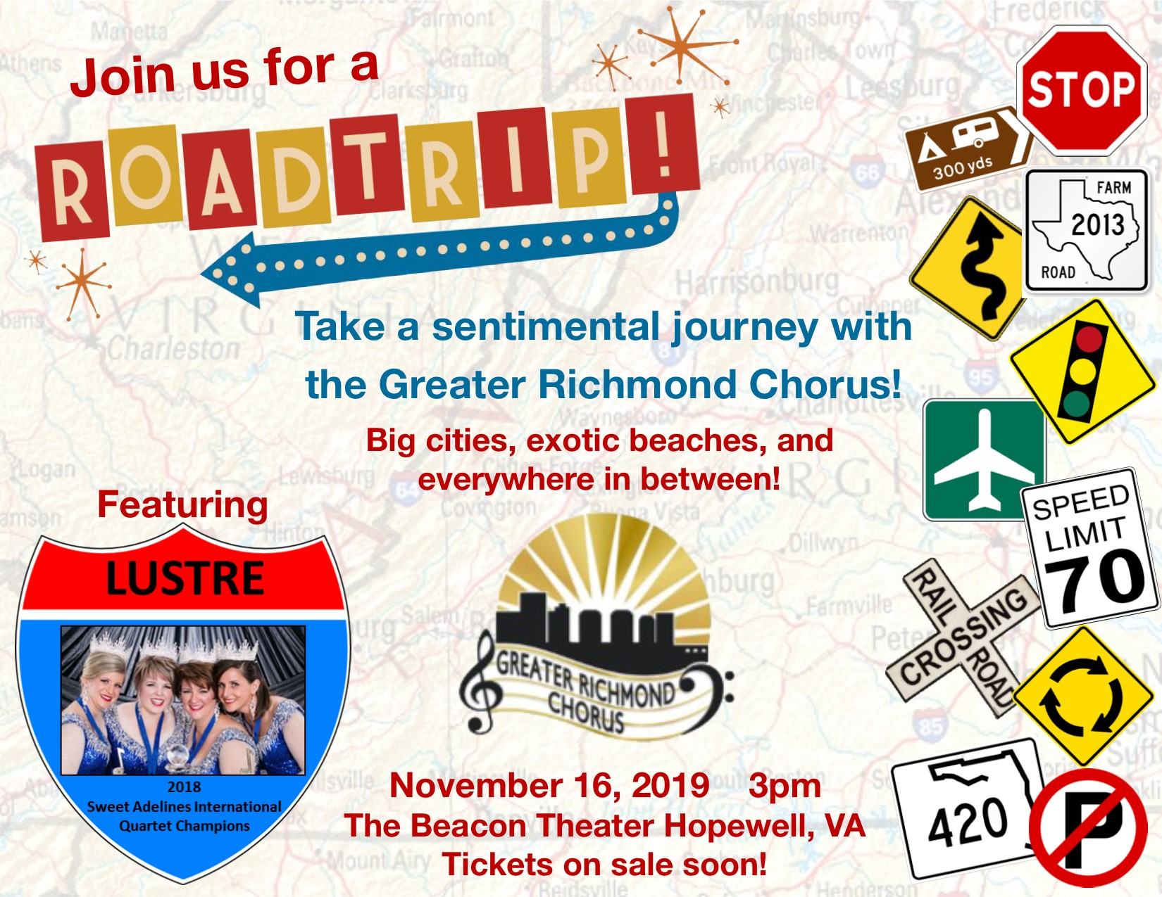 Join us for a Roadtrip!